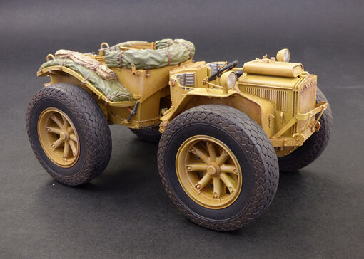 Plus Model 1 35 Pavesi P4 with Tyres (Complete Resin kit)