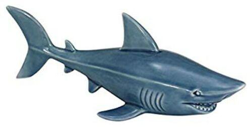 Maritime Decoration Figurine 23 CM Shark Glasiert
