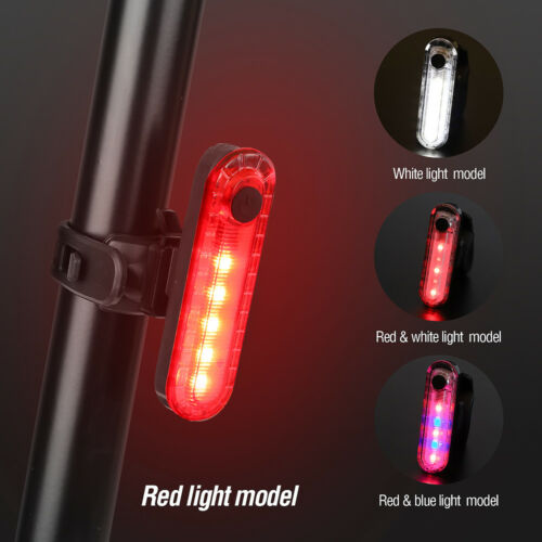 Waterproof Cycling Taillight Led USB Rechargeable Riding Rear Bike Safety Light