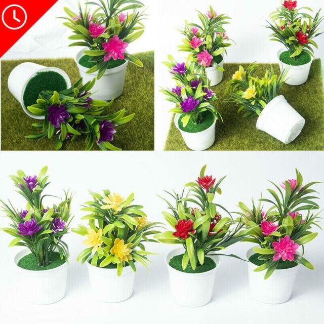 Craft Simulation Potted Lifelike Plants Home Decoration Artificial Bonsai For Sale Online Ebay