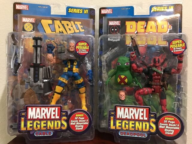 New Cable Series 2020 Deadpool II Movie 2018 Marvel Legends Series VI Collectible for