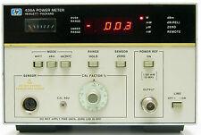 HP Agilent 436A RF Power meter singolo canale Bolometro -70/+44 dBm 8480 series