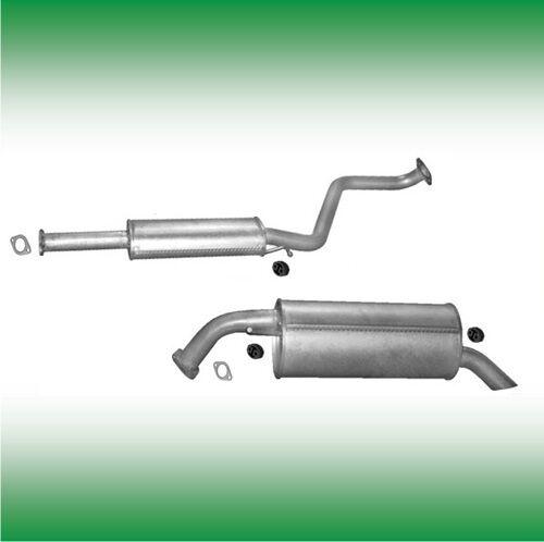 HYUNDAI GETZ 1.5 CRDi GLS 65//81 KW 88//110 PS 2005-2009 Auspuff Abgasanlage 0847