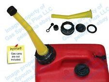 Chilton Yellow Gas Can Spout Amp Parts Kit Sears Craftsman Aftermarket Replacement