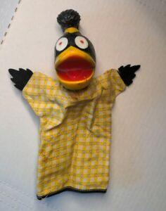 1963 Milt Boyd Clarence WHBF-TV Grandpa Happy Hand Puppet Softskin Toys Inc