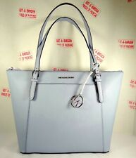 c305b1760d04c3 item 1 Michael Kors Ciara Large East West Top Zip Tote Saffiano Leather in  Pale Blue -Michael Kors Ciara Large East West Top Zip Tote Saffiano Leather  in ...