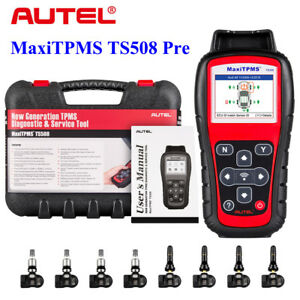 Details about Autel MaxiTPMS TS508K TS508 Premium Tire pressure Code  Scanner Tool Program ECU