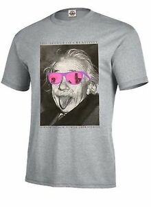 Einstein T Shirt The Secret Of Creativity Is Knowing How To Hide Your Sources Ebay