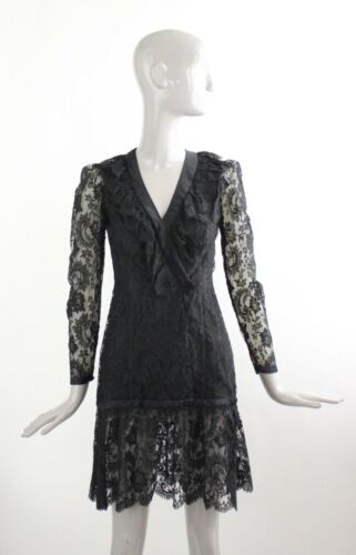 Vintage 1970's Biba by Barbara Hulanicki Black Lac