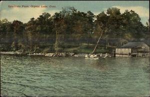 Crystal-Lake-CT-Syndicate-Point-c1910-Postcard