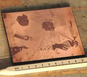 Galvano-Druckstock-Kupferklischee-Druckplatte-imprimerie-letterpress-Bleisatz