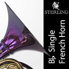 PURPLE • Bb Single STERLING FRENCH HORN • Pro Quality • Brand New • With Case •