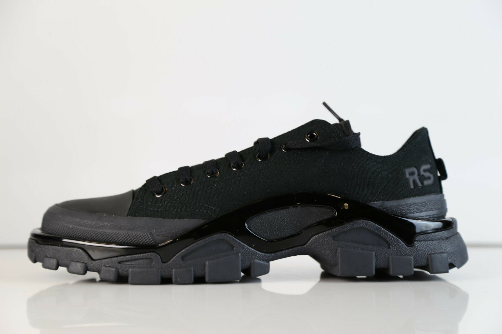 Adidas Raf Simons RS New Runner Core Black DA9297 8-11 canvas rf stan sneaker