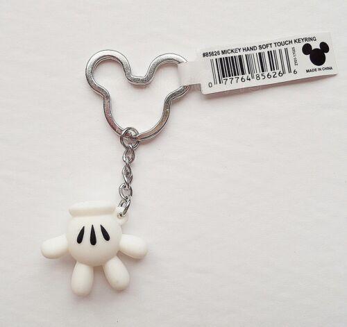 Mickey Mouse Keychain//Keyring 85626 Mickey Hand Disney