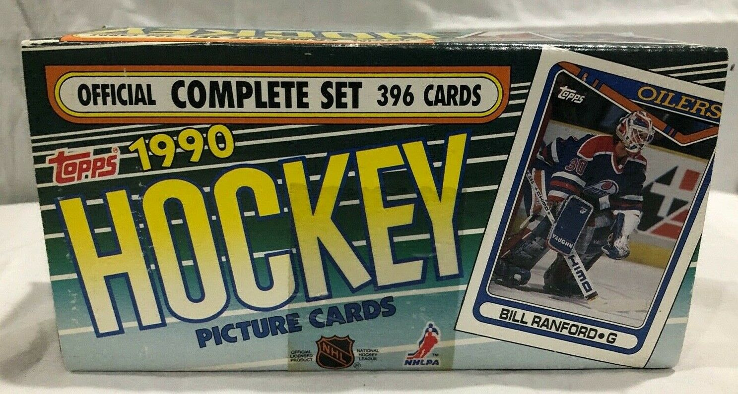 Topps 1990 Hockey Sport Cards Offical Complete Set 396 Card Set New /& Sealed