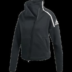 Détails sur Adidas Femmes Z. N.E.Heartracer Piste Veste Neuf Noir Active Wear 2019 CZ2817