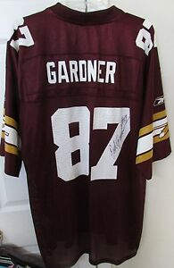 newest collection 7f211 5866c Details about NFL Washington Redskins 70th Anniversary Rod Gardner #87  Signed Jersey XL Reebok