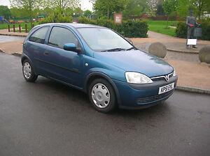 2001-Vauxhall-Opel-Corsa-1-0i-12v-Comfort-3-Door-Manual-Petrol