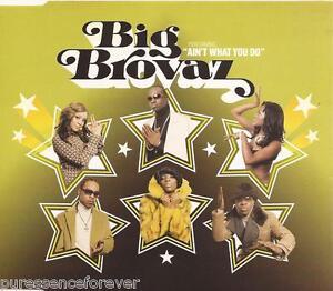 BIG-BROVAZ-Ain-039-t-What-You-Do-UK-4-Tk-Enh-CD-Single-Pt-1