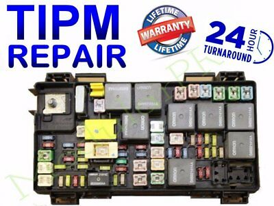 Dodge RAM 1500 TIPM 2012 Repair//Replacement Service Fuel Pump Relay