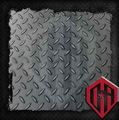 Hydrographic Water Transfer Hydrodipping Film Hydro Dip Diamond Plate SM 2M