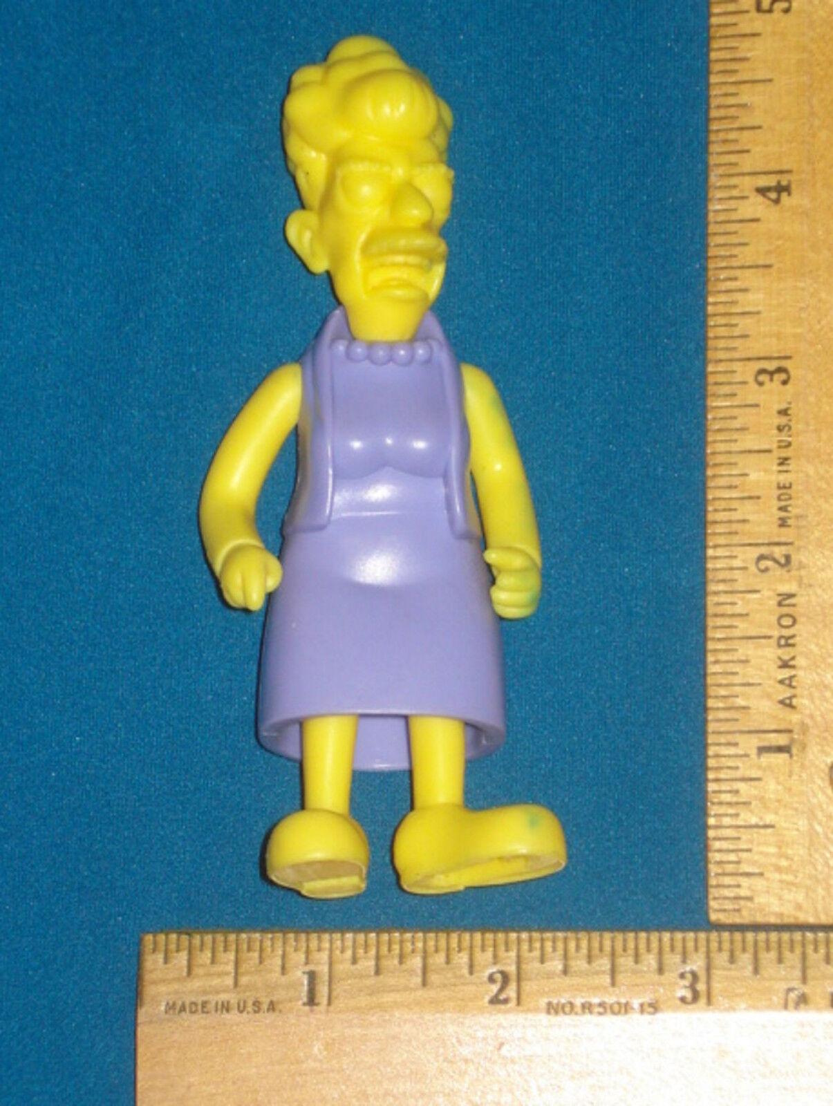 Prototype Test Shot Figure Playmates Simpsons AGNES SKINNER  Wave 16 HTF RARE V1