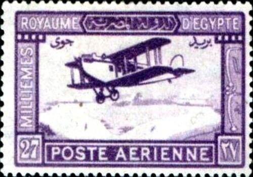 PHOTO MAGNET  Egypt 1926 De Haviland plane in Flight 27m Reproduction