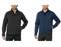 Gerry Men's Mixed Media Knit On The Go Full Zip Jacket - Pick Your Size/color