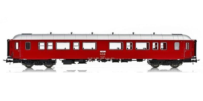 NMJ nmjt 130.201 Topline a los turismos b3-2 Type 3 25510 de la nsb, rojoplata, h0