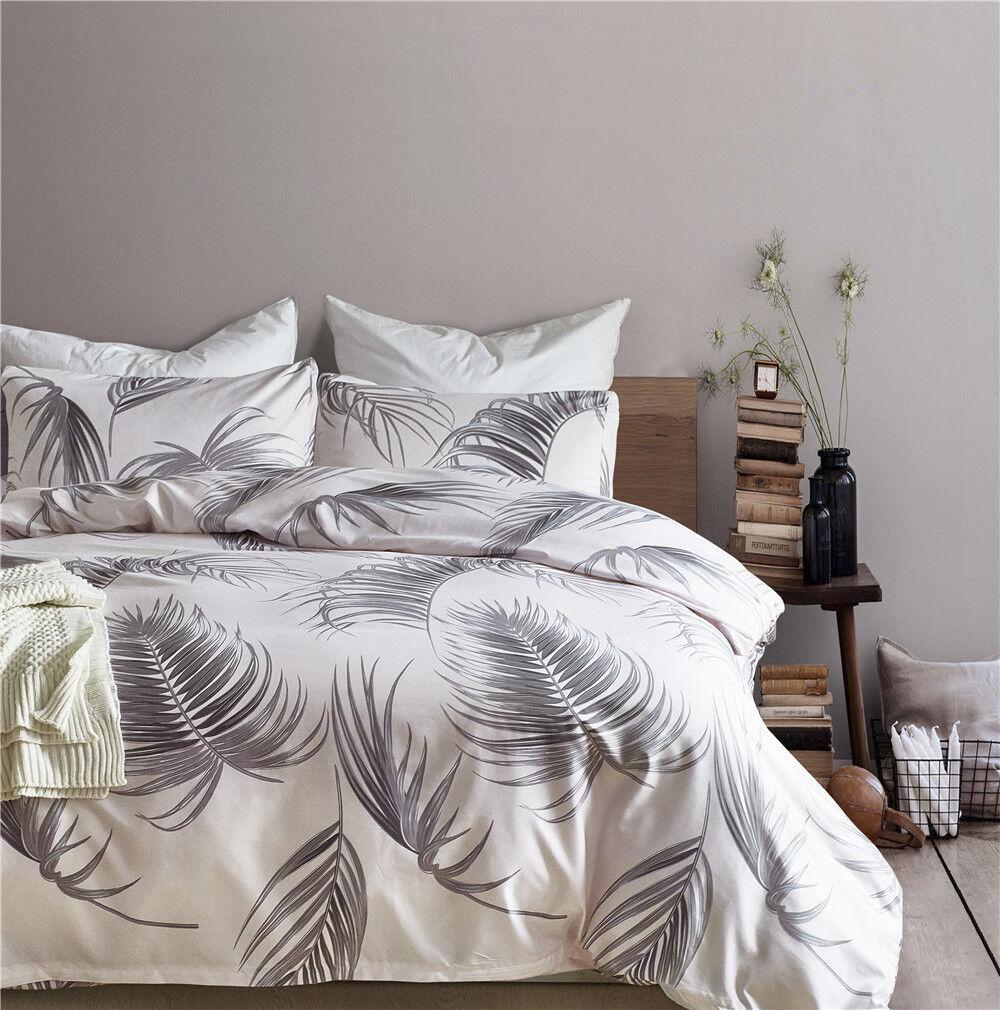 Bedroom Bedding Set Duvet Cover Quilt Pillowcase Bed Set Twin Queen King New