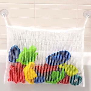 Bébé salle de bain JOUET rangé Stockage Filet Organisateur avec ventouse NEUF