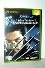 X-MEN 2 LA VENDETTA DI WOLVERINE GIOCO USATO XBOX EDIZIONE ITALIANA GD1 35880