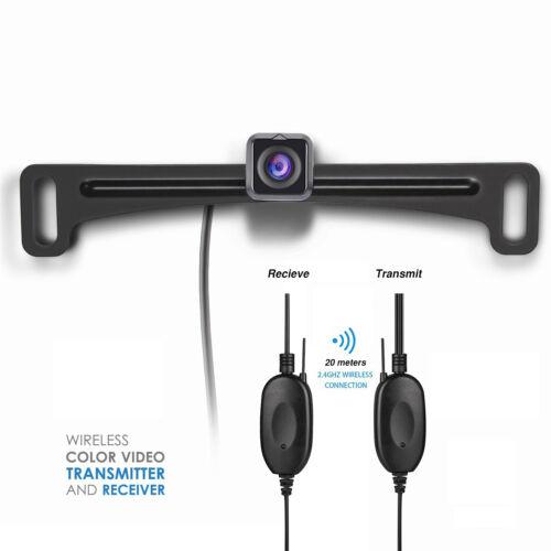 Wireless 2.4GHz Car Rear View Reverse Backup HD Camera Waterproof Night Vision