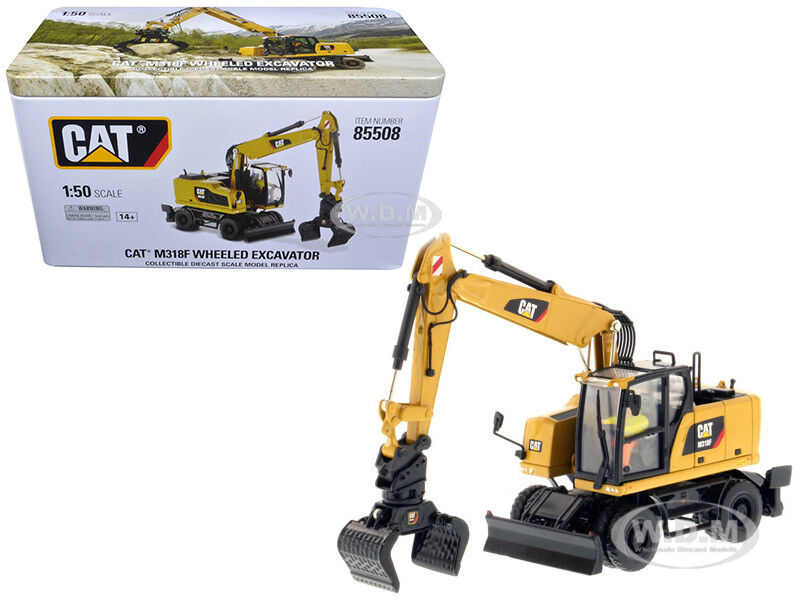 Katze m318f bagger caterpillar - 1   50 von 85508 druckguss - modell
