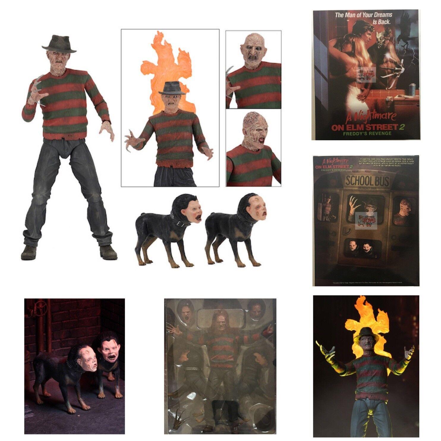 ULTIMATE FREDDY Freddy's REVENGE A Nightmare On Elm Street 2 NECA 2018 7  INCH