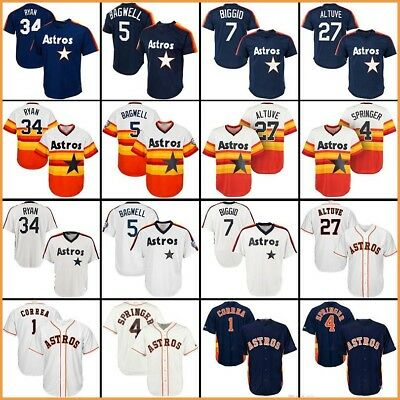 new styles cb992 a84a8 2018 baseball jerseys Houston Astros jersey Altuve Springer ...