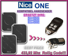 Nice ON1E / Nice ON2E / Nice ON4E kompatibel handsender / Ersatz fernbedienung