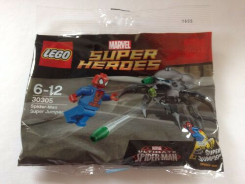 original LEGO polybag marvel spiderman super jumper 30305 BNIB