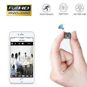 Mini Camera Hidden HD 1080P Video Camcorder Spy Night Vision Security DVR DV