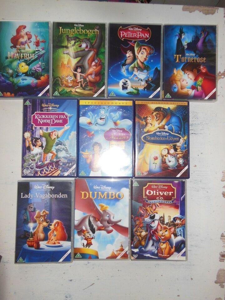 Disney samling, instruktør Walt Disney Guldnumre, DVD