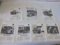 7 Holland Attachment Brochures Lx465 Lx485 Lx565 Lx665 Lx865 Lx885 Lx985