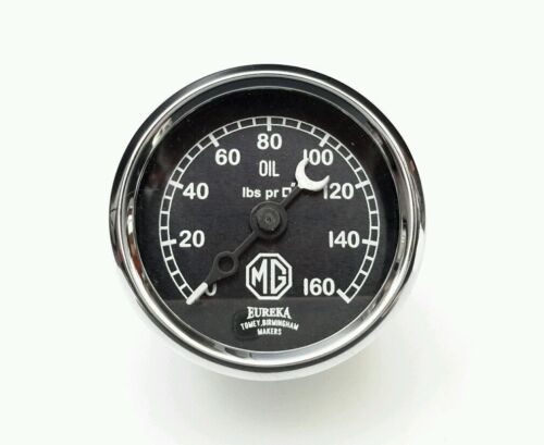 """Brand New 2/"""" MG Oil  Gauge 0-160 for 1929-1931 M TYPE"""