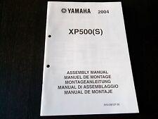 Yamaha XP 500 XP500 (S) 2004  Assembly Manual Montageanleitung