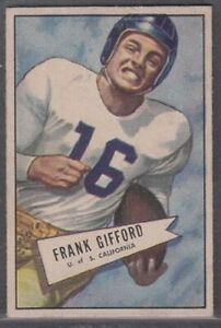1952-Bowman-Small-Frank-Gifford-Rookie-16-New-York-Giants