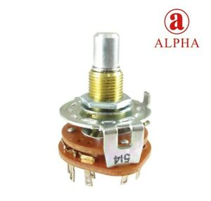 Rotary-Switch-Alpha-Choice-of-3-or-4-Way-3-Poles