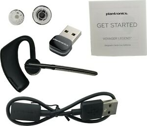 New Plantronics Voyager Legend Uc B235 Usb Bluetooth Headset Black 87670 01 Ebay