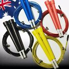 Adjustable Skipping Cable Wire Jump Rope Boxing Skip Gym High Speed SJUMP49