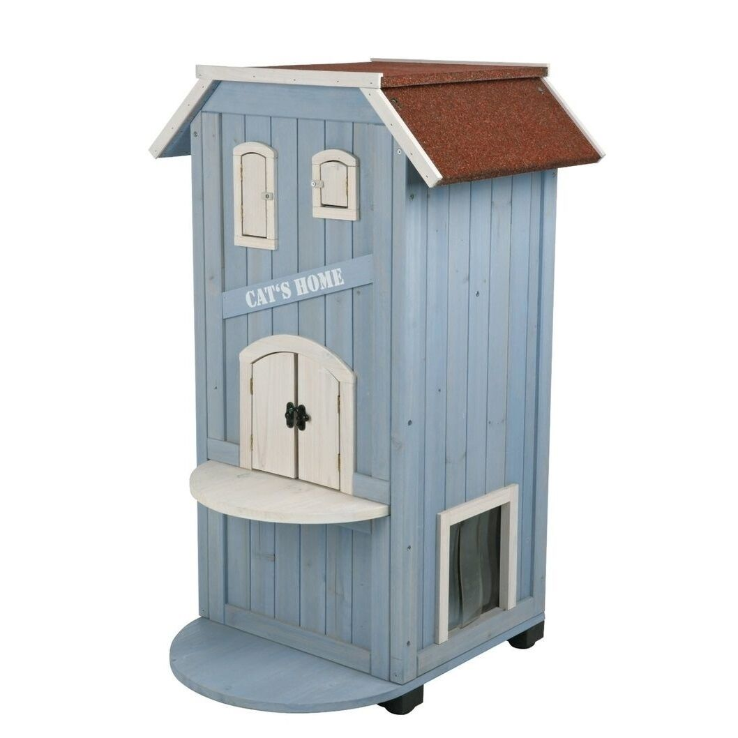 Cat House Pet Condo Trixie 3 Story Perch Climbing Activity Bed Indoor Outdoor For Sale Online Ebay