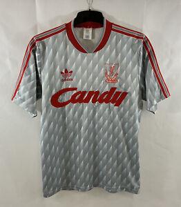 Liverpool Away Football Shirt 1989/91 Adults Medium Adidas A881