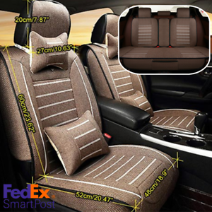 2x CAR FRONT SEAT COVERS PROTECTOR For Mercedes M-Class ML SUV